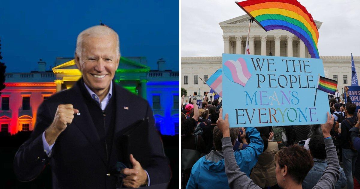 """hjjjj.jpg?resize=1200,630 - """"Your President Has Your Back""""- Joe Biden Openly Supports Transgender American Community"""