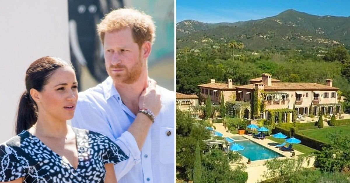 mansion6.jpg?resize=1200,630 - Meghan And Harry Call Police To Their Mansion NINE Times Since Last Year, Reports Reveal