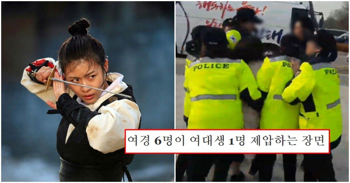 page 203.jpg?resize=1200,630 - 여자가 조선시대 경찰이었던 '포졸'이 되려면 통과해야 했던 체력·무술 시험 수준