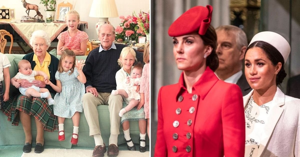philip2 1.jpg?resize=412,232 - Photo Of Prince Philip And The Queen Cuddling Up With Their Great-Grandchildren Has Been Released By The Royals