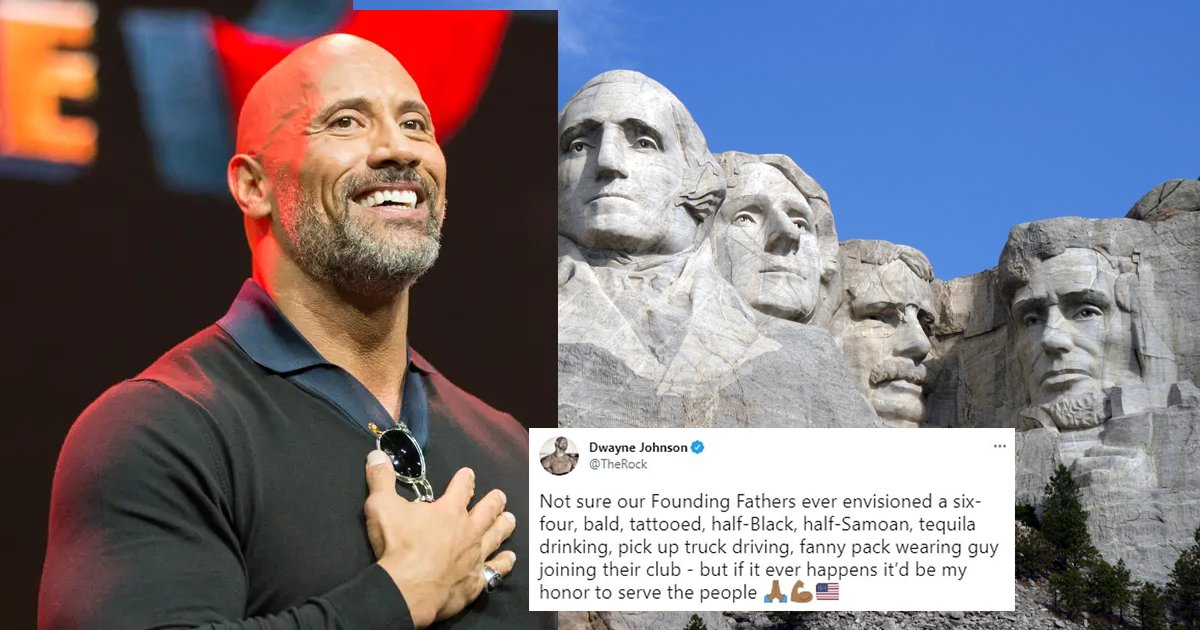 """president 1 1.png?resize=1200,630 - Dwayne """"The Rock"""" Johnson Receives TREMENDOUS Support If Plans Succeed To Run For President, Nearly HALF Of America Supports His Decision Based On Polls"""