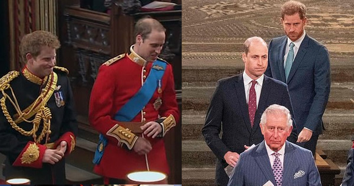 prince thumb.png?resize=1200,630 - Video Footage Released Of Prince William And Prince Harry In A Joyous Setting MOMENTS Before Being Wedded To Kate Middleton, Viewers Are Depressed From Their Distanced Relationship Over The Years