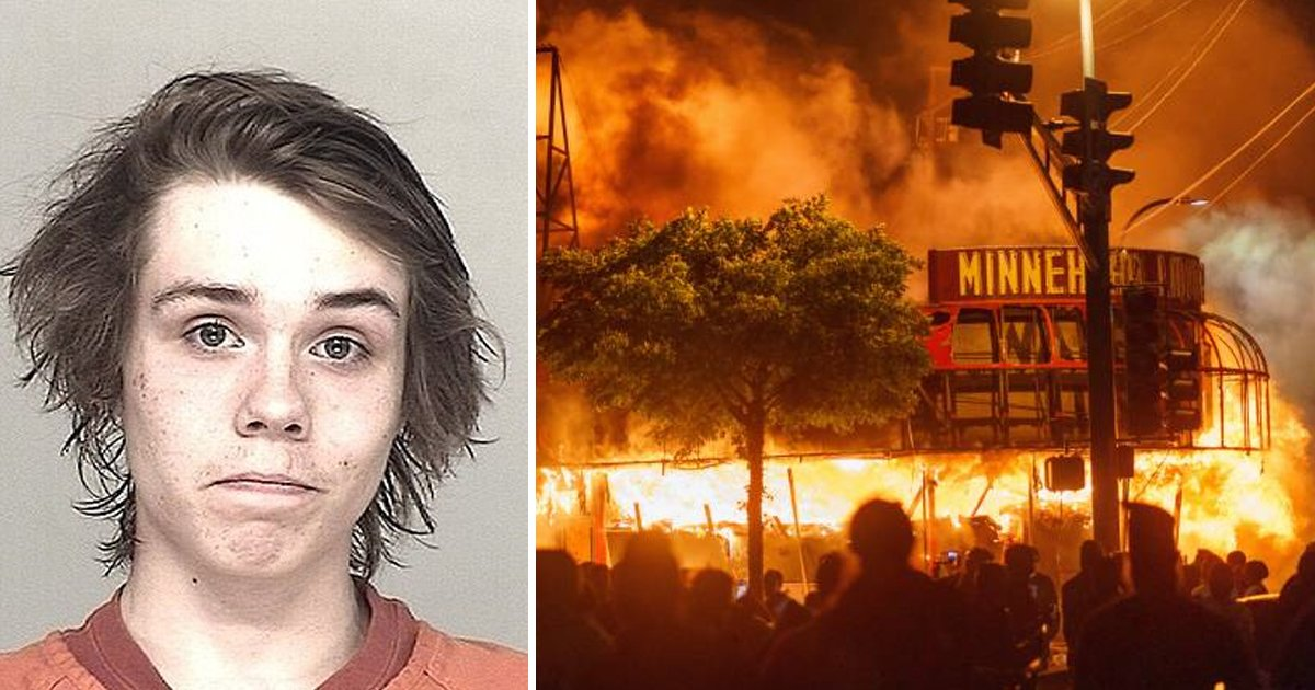 sdfsdfss.jpg?resize=1200,630 - Man Sentenced To 4 Years In Prison & Fined $12 MILLION For Setting Police Station On Fire In Minnesota