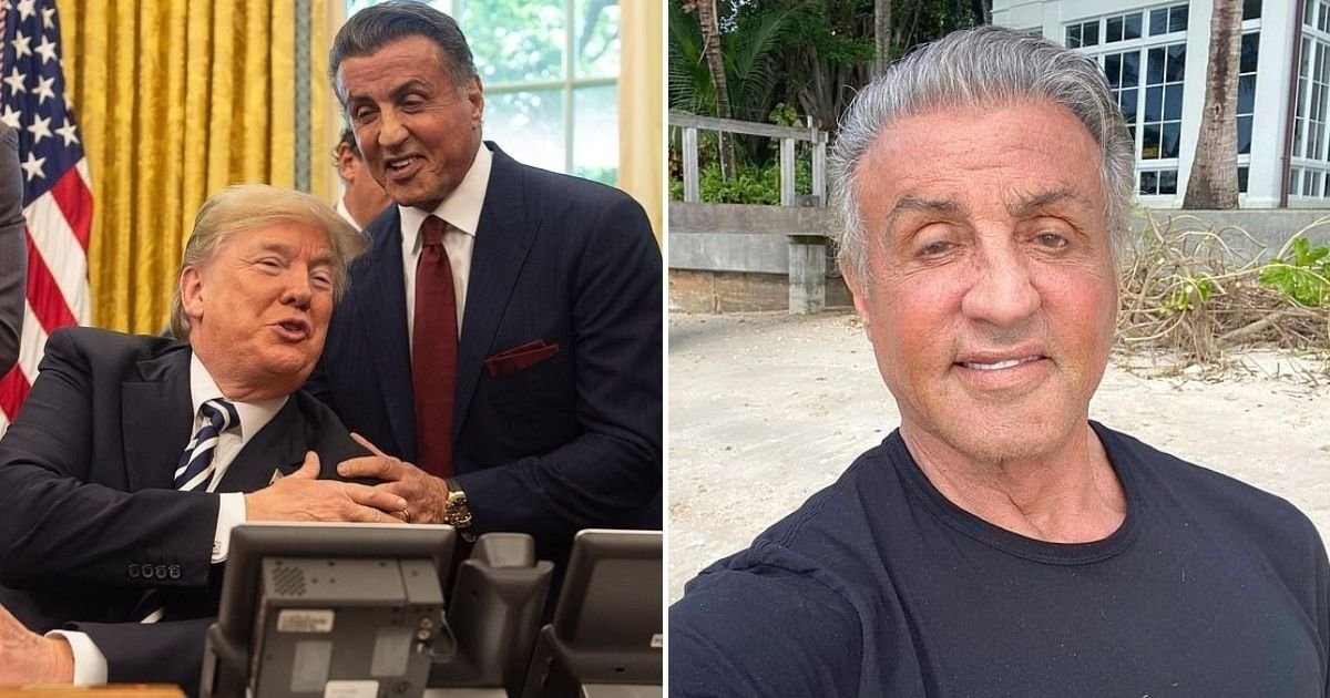 sly5.jpg?resize=412,232 - Sylvester Stallone Pays Initiation Fee To Join Trump's Mar-A-Lago Club Weeks After Buying A Mansion In Palm Beach