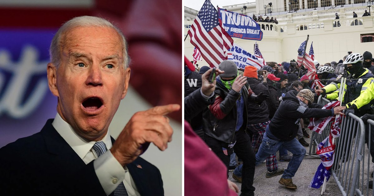 t8 6.jpg?resize=1200,630 - President Biden SLAMMED For Referring To Capitol Riots As 'Worst Attack On Our Democracy Since Civil War'