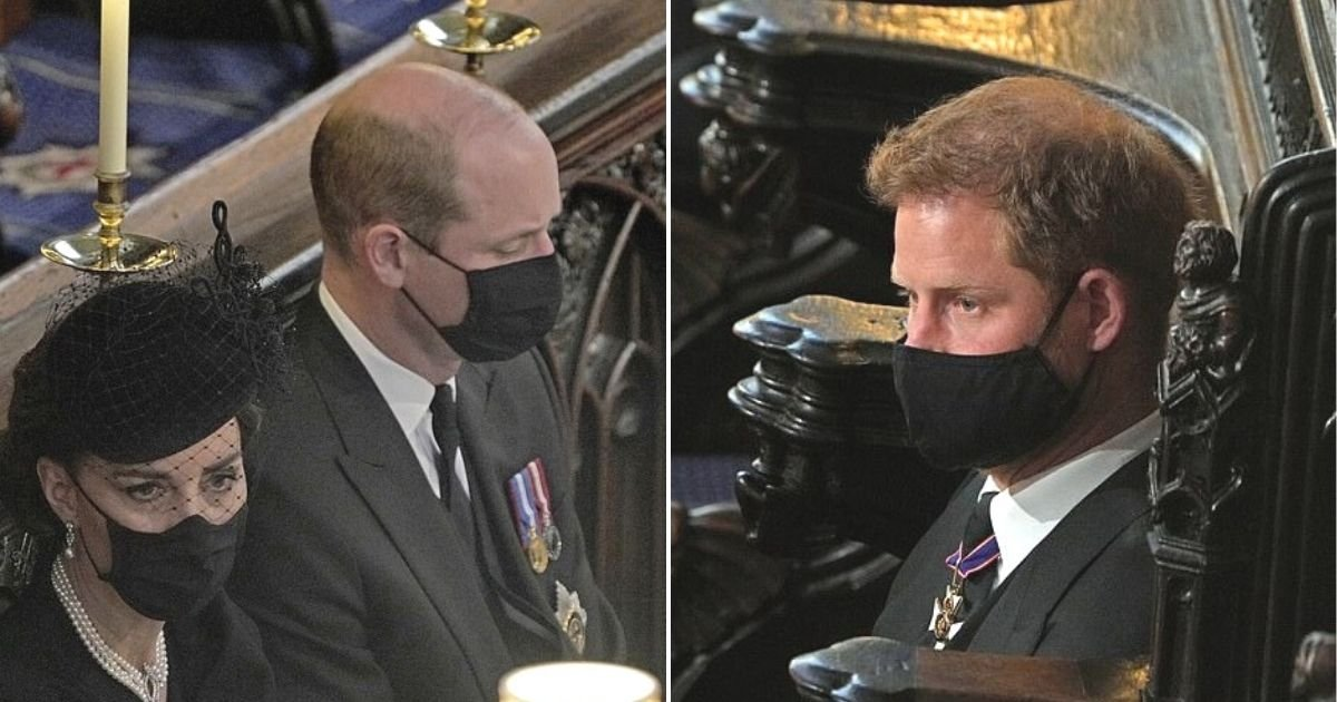 untitled design 12 2.jpg?resize=412,275 - Prince William Requested To Stand Away From Harry During Prince Philip's Funeral, Sources Say