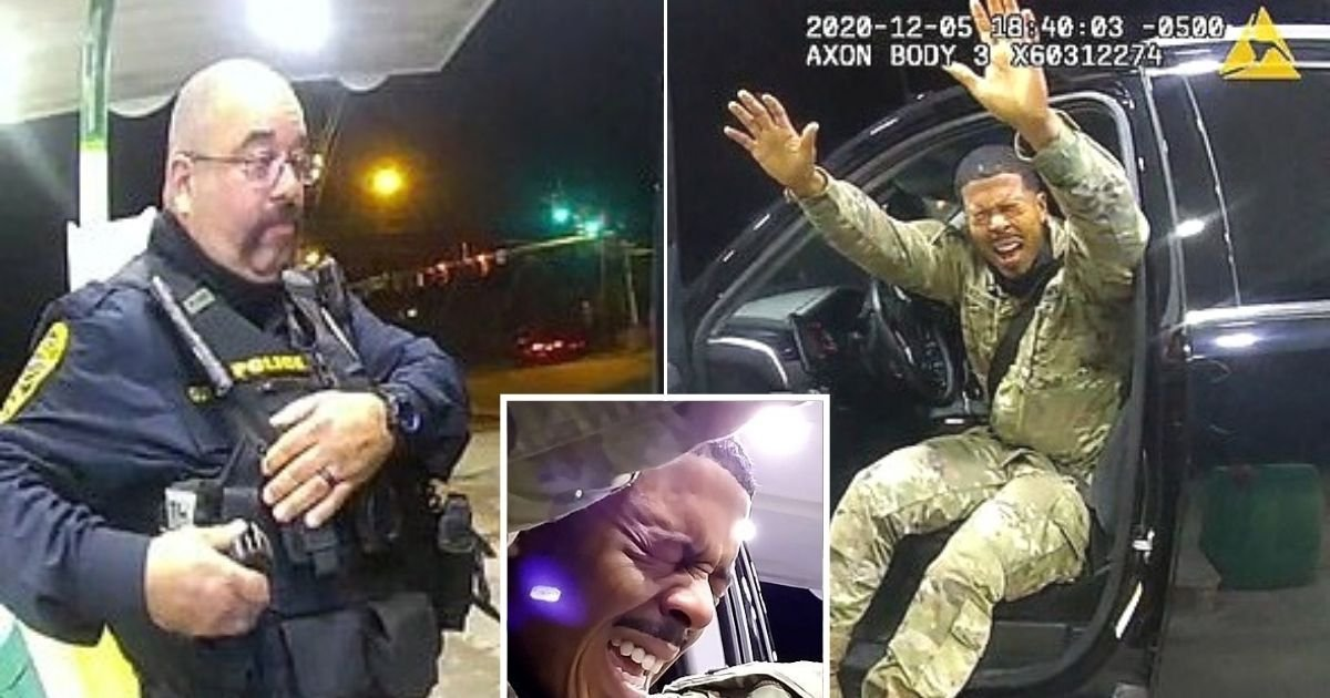 untitled design 12.jpg?resize=412,232 - Officer Who Pepper-Sprayed Army Lieutenant And Pulled A Gun On Him During Traffic Stop Is Fired After An Internal Investigation