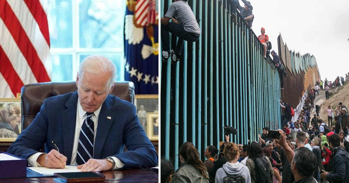 vgsv.jpg?resize=1200,630 - Just In: President Biden Now Wants To RESTART Trump's Border Wall Construction To 'Plug Gaps'