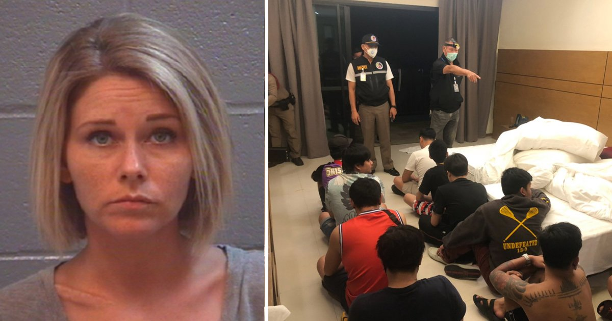 werr.jpg?resize=1200,630 - Mother Of 5 Arrested For Hosting Teen S*x & Drugs Party At Her Georgia Residence