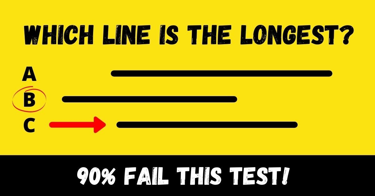 which line is the longest .jpg?resize=412,232 - Which Line Is The Longest? This Puzzle Is Tricking People Into Giving The Wrong Answer