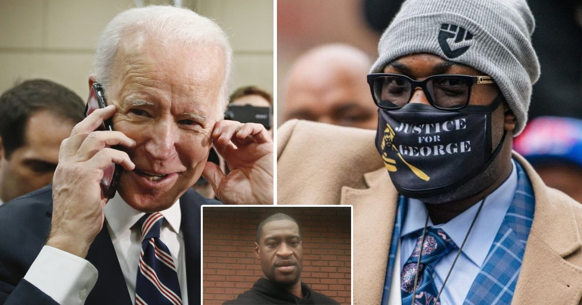 wwwee.jpg?resize=1200,630 - Joe Biden Calls George Floyd's Family, Says He's Praying For Them