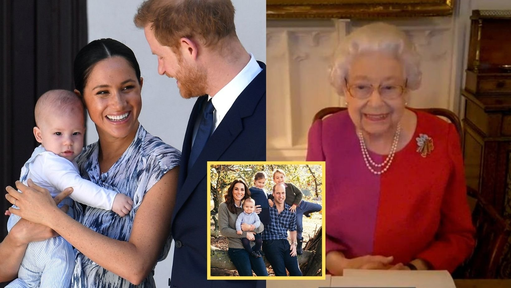 1 33.jpg?resize=1200,630 - Meghan & Harry Will Video Call The Queen For Archie's Birthday & Put The 'Rift' Aside To Speak With The Cambridges