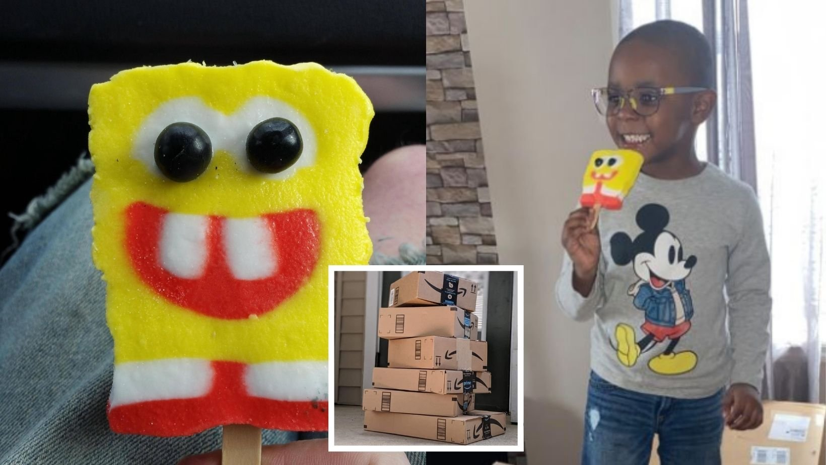 1 39.jpg?resize=1200,630 - Boy Accidentally Orders $2,600 Worth of SpongeBob Popsicles On Amazon