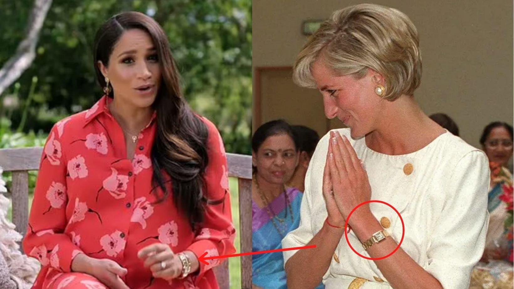 1 47.jpg?resize=1200,630 - Meghan Wears Princess Diana's Cartier Watch & Jewelries Symbolising 'Abundance & Enlightenment' For Vaxlive Concert