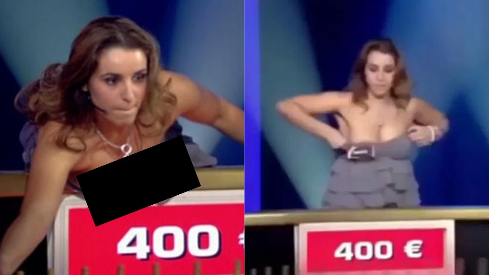 1 56.jpg?resize=1200,630 - Gameshow Contestant Had A Flashy Wardrobe Fail That Exposed Her B**bs On Live TV