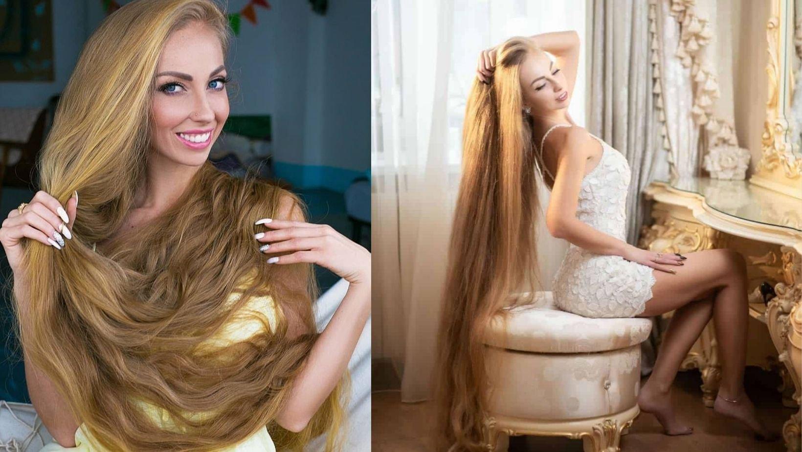 1 77.jpg?resize=1200,630 - Real Life Rapunzel Grows Her Hair  As She Believes Long Blonde Locks Attract Men More