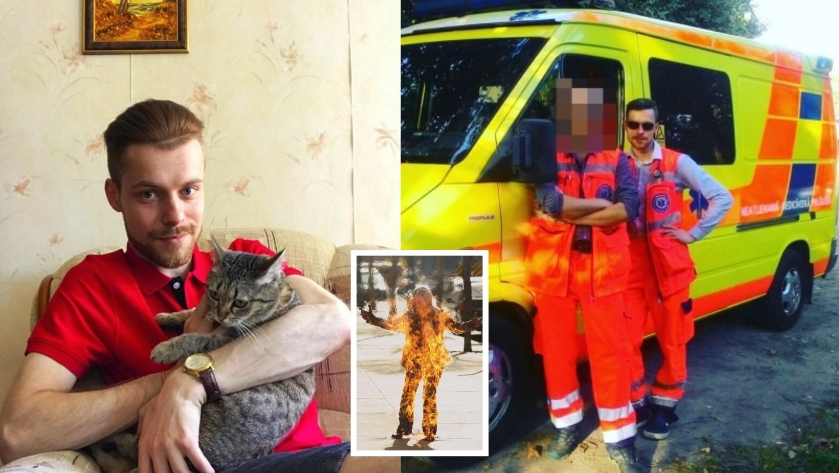 1 8.jpg?resize=1200,630 - Gay Paramedic Was Burned Alive In Homophobic Attack, Cops Are Slammed For Calling It 'Suicide'