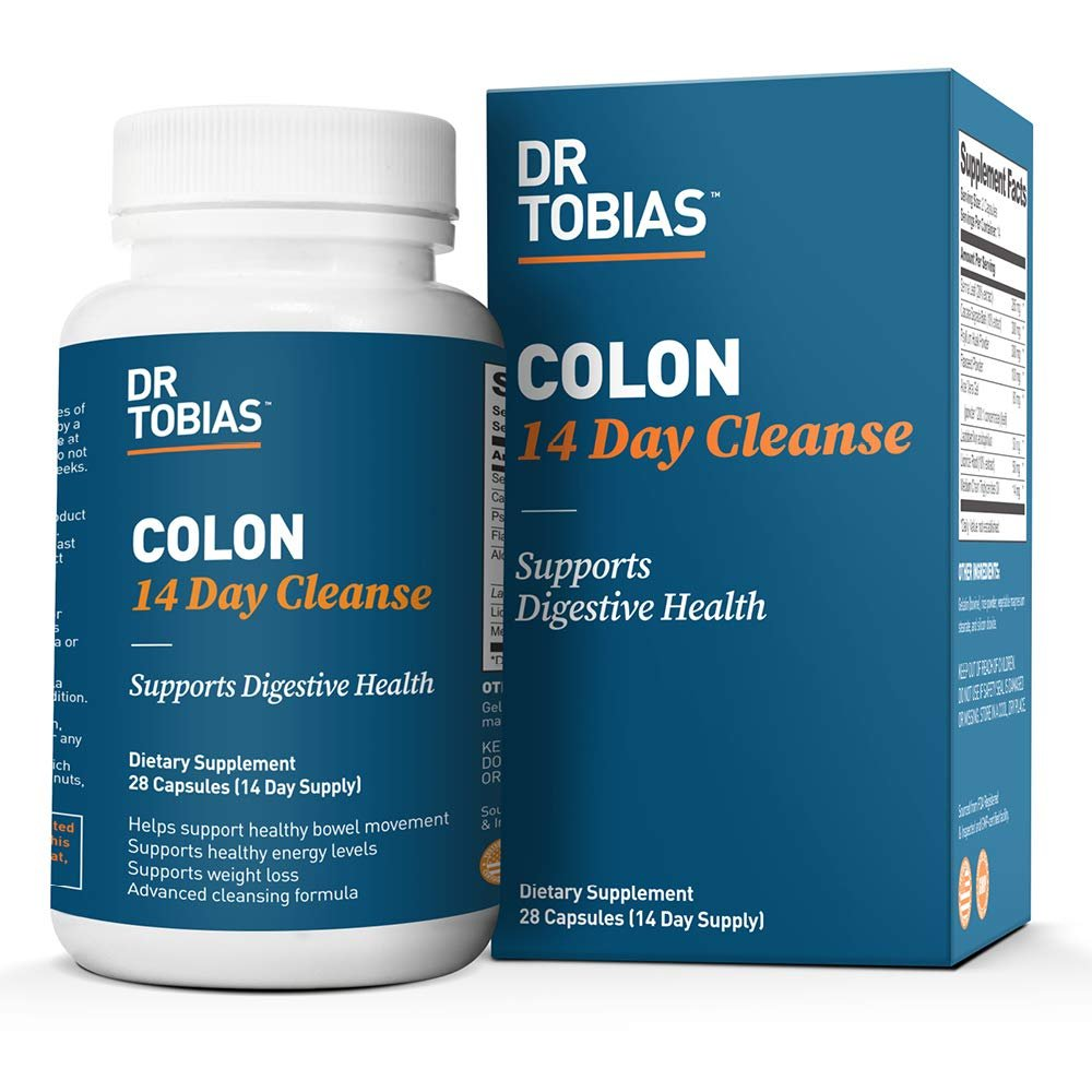Dr. Tobias Colon 14 Day Cleanse, Supports Healthy Bowel Movements, 28 Capsules (1-2 Daily)- Buy Online in Pakistan at desertcart.pk. ProductId : 2292220.