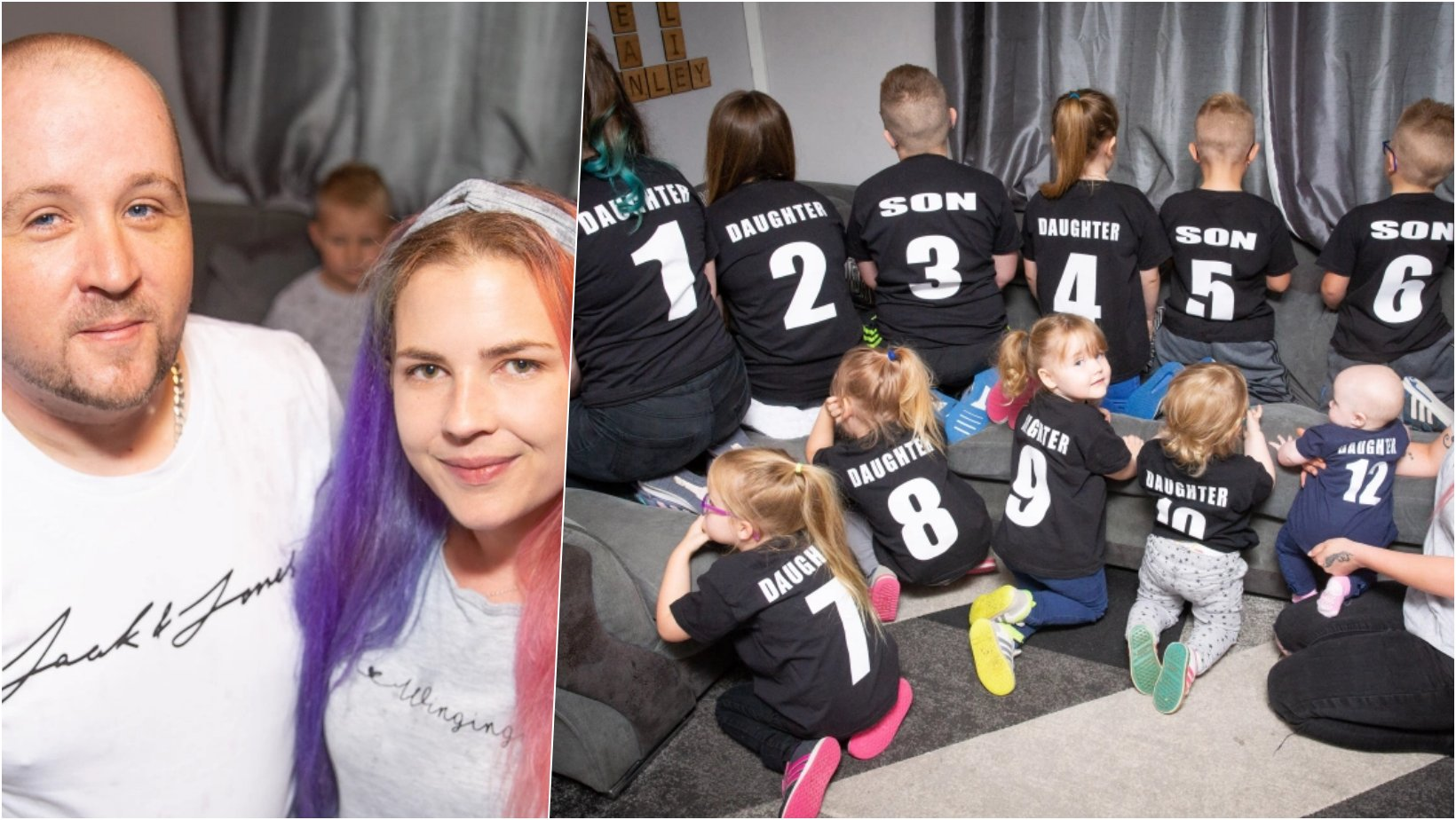 6 facebook cover 14.png?resize=1200,630 - Woman Who Said She Never Planned Having Kids Is Now A Supermom of 11 & Makes Them Wear Numbers Just To Keep Track