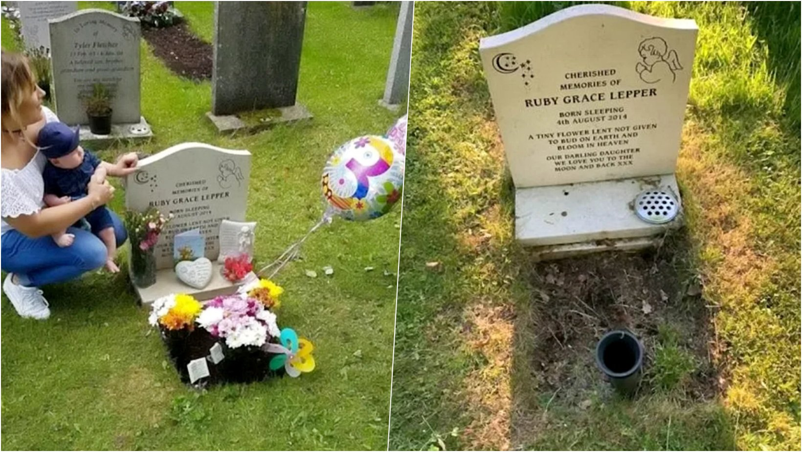 6 facebook cover 16.png?resize=1200,630 - Mother Is Beyond Heartbroken After Church Volunteers Removed & Destroyed Precious Tributes From Her Baby's Grave