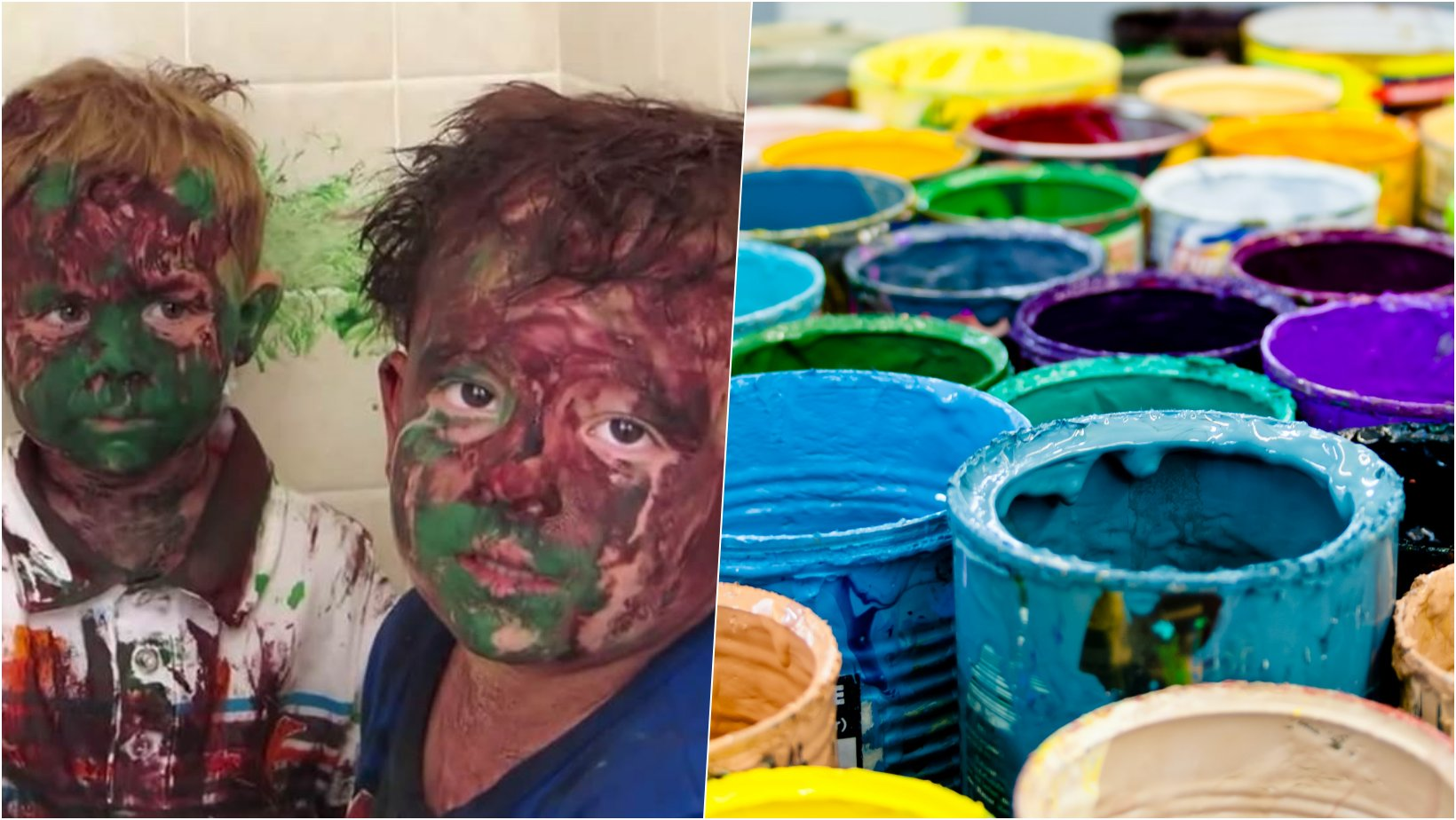 6 facebook cover 2.png?resize=1200,630 - Dad Can't Control His Laughter When He Tried To Scold His Kids Covered In Paint