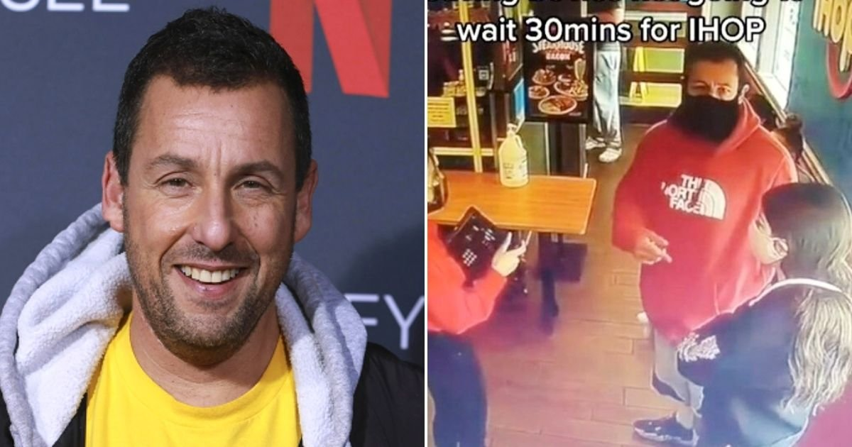 adam5.jpg?resize=1200,630 - Adam Sandler's Hilarious Response After Restaurant Worker Turned Him Away Because There Were No Tables Available For Him And Daughter