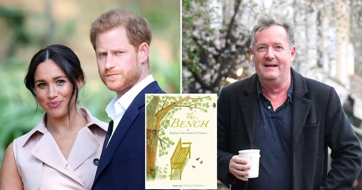 book5.jpg?resize=1200,630 - Piers Morgan Brutally Mocks Meghan Markle's New Book About Dads And Sons And Says She Has An 'Appalling Relationship' With Her Father