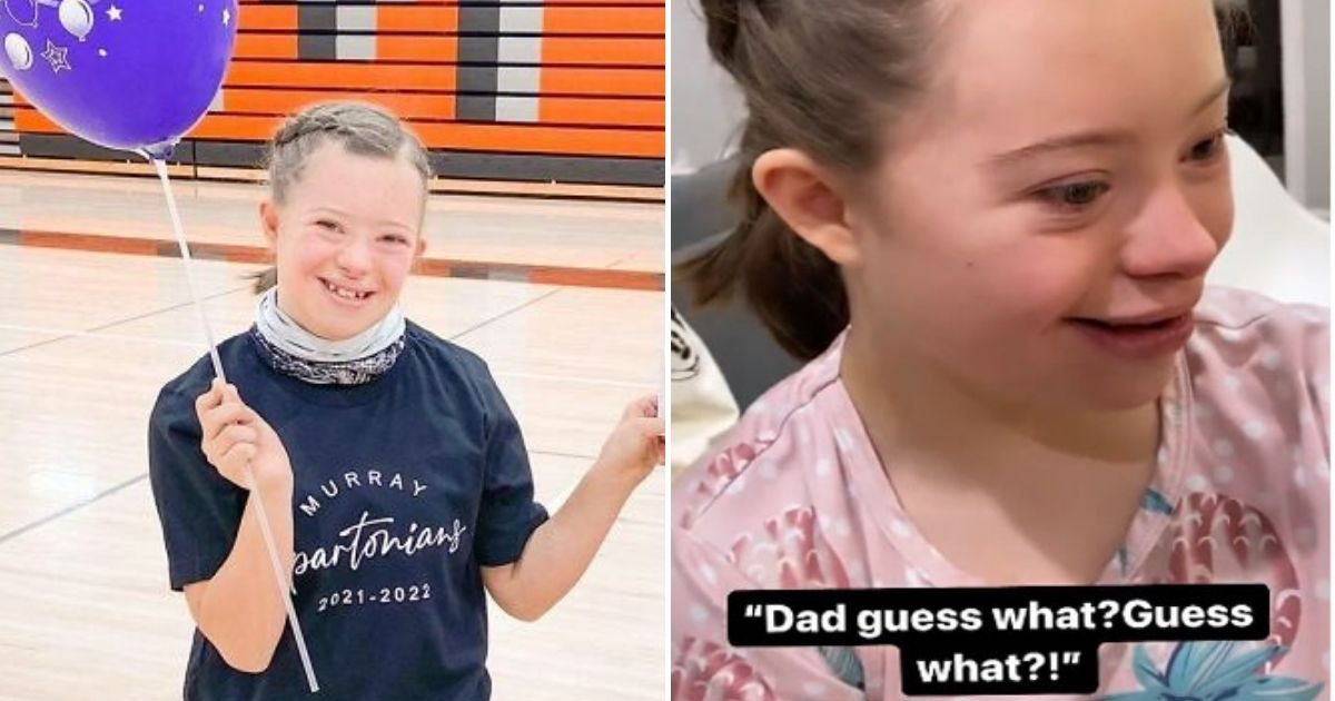 bree4.jpg?resize=412,232 - Girl With Down Syndrome Burst Into Happy Tears While Telling Her Dad That She Made It To Her School's Dance Team