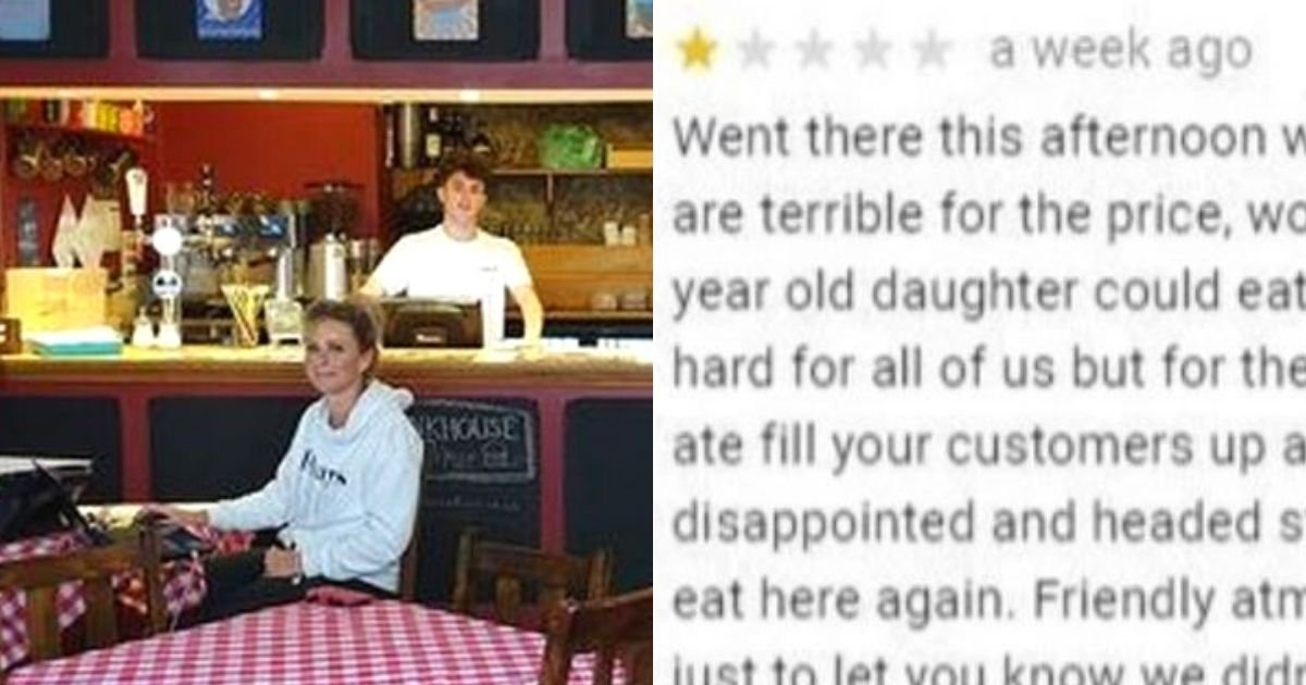 cafe5.jpg?resize=412,232 - Cafe Owner's Savage Reply To A Rude Customer Who Left A One-Star Review