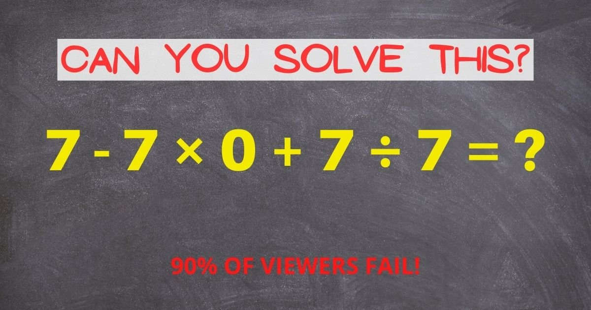 can you solve this 2.jpg?resize=1200,630 - How Fast Can You Solve This Tricky Math Problem That Left The Viewers Divided