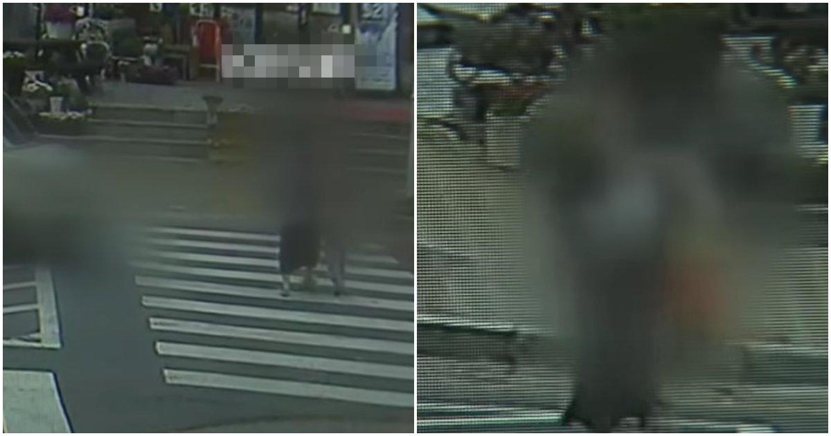"""collage 169.png?resize=412,232 - """"눈 수술하고 운전해 스쿨존에서 4살 딸과 30대 여성 차로 들이 받은 사고 당시 CCTV가 공개됐습니다"""" (+영상)"""