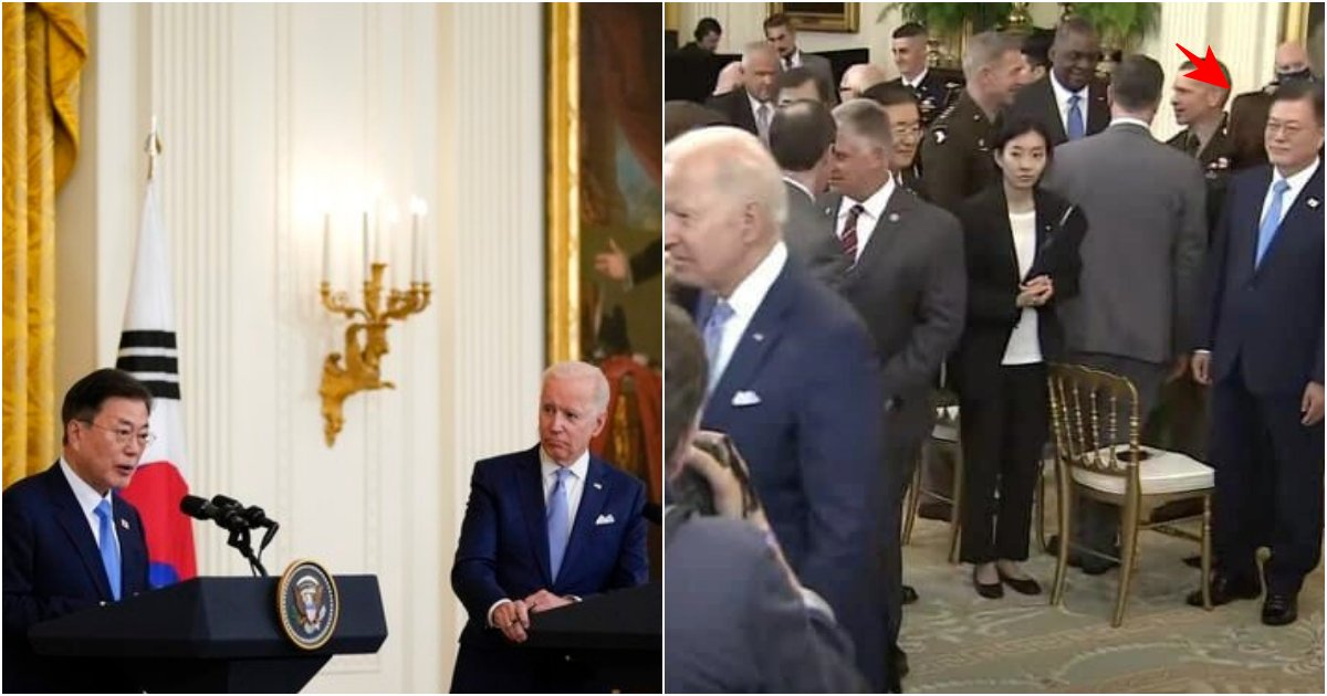 "collage 358.png?resize=1200,630 - ""우리 여성 기자들은 왜.."" 외신기자와 미국 대통령에게 당혹감을 주고 비웃음 산 문 대통령의 충격 발언"