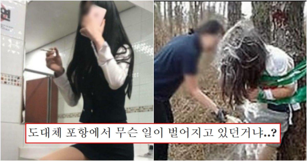 collage 395.png?resize=1200,630 - 실시간 대한민국을 공포에 떨게한 '포항 촉법여중생' 5명이 일으켰지만 묻힌 소름돋는 사건