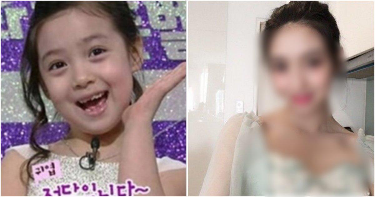 "collage 80.png?resize=412,232 - ""아니.. 원래 이렇게 컸어..?"" 정답소녀로 유명했던 아역 배우 김수정의 근황"