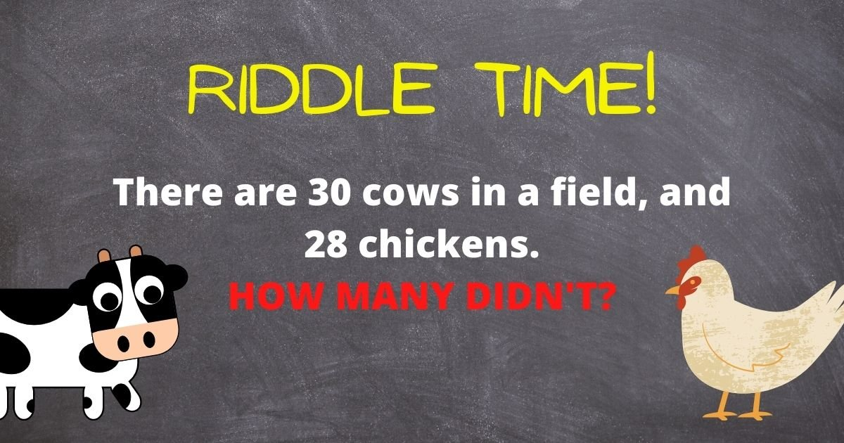 credit vonvon 3.jpg?resize=1200,630 - Can You Solve This Viral Riddle About Cows And Chickens? Only 5% Of People Can Figure It Out