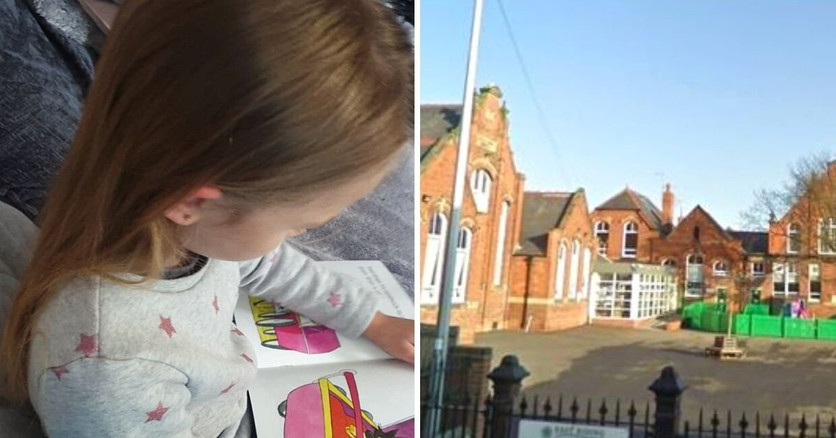 girl5.jpg?resize=1200,630 - 5-Year-Old Girl Sent Home With 'Insensitive' Daddy And Daughter Homework After Death Of Her Father