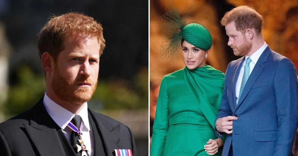 harry6 1.jpg?resize=412,232 - Prince Harry's Relationship With Royal Family Is 'Hanging By A Thread' After His Latest Attack