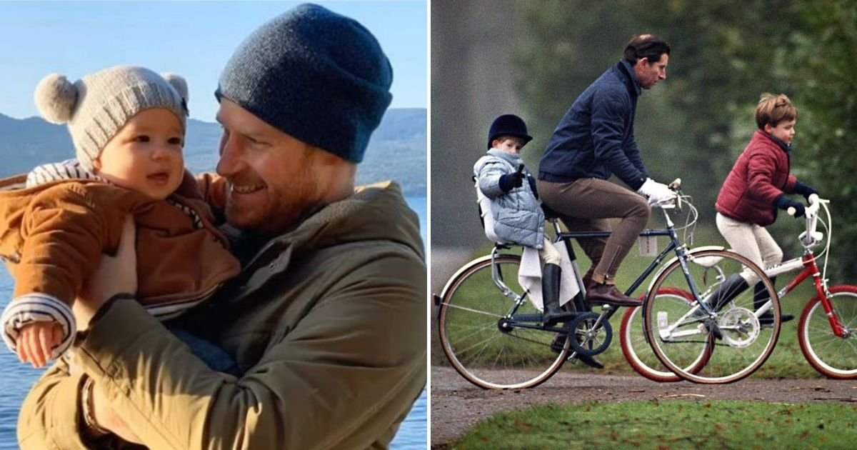 harry8 1.jpg?resize=412,232 - Prince Harry Claims He Was Never Able To Go On Bike Rides With His Father As A Child But Archive Photos Suggest Otherwise