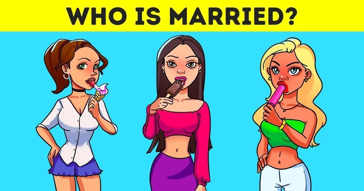 married.jpg?resize=412,232 - Three Women Walk Out Of Ice Cream Shop: How Fast Can You Figure Out Who Is Married?