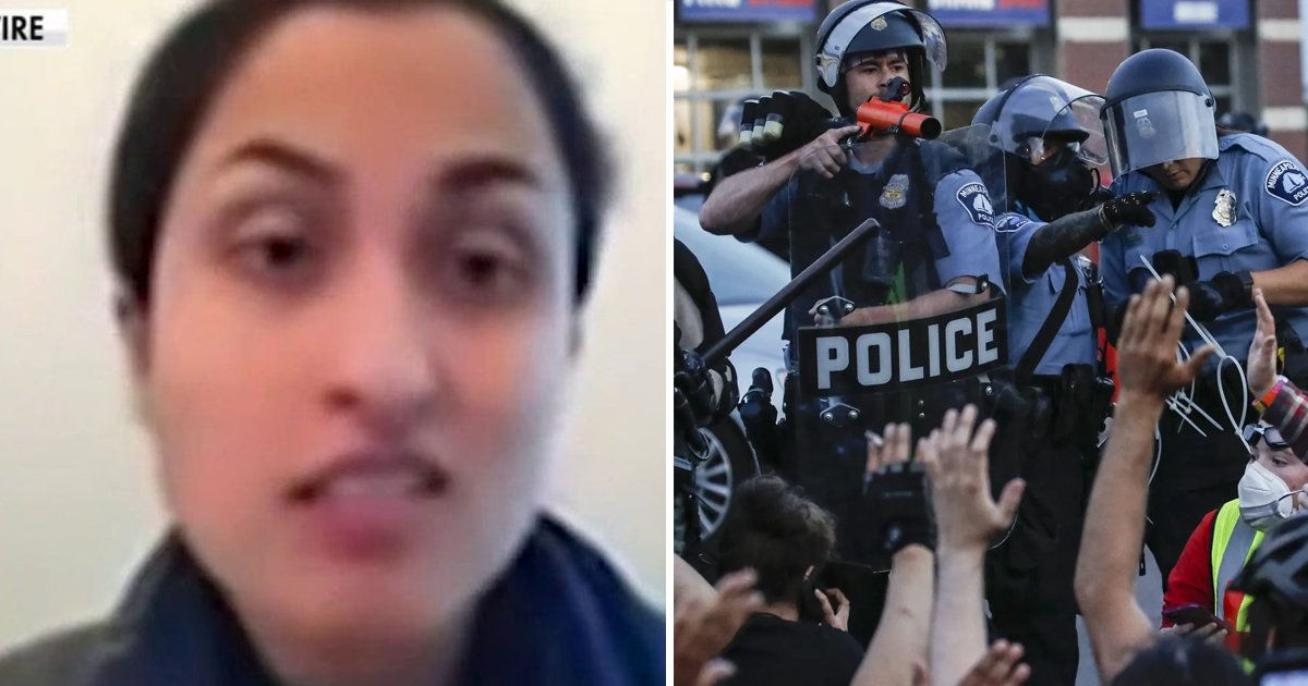 sgsgs.jpg?resize=1200,630 - California Professor FLIPS Out Over Student On Air For Referring To The Police As 'Heroes'