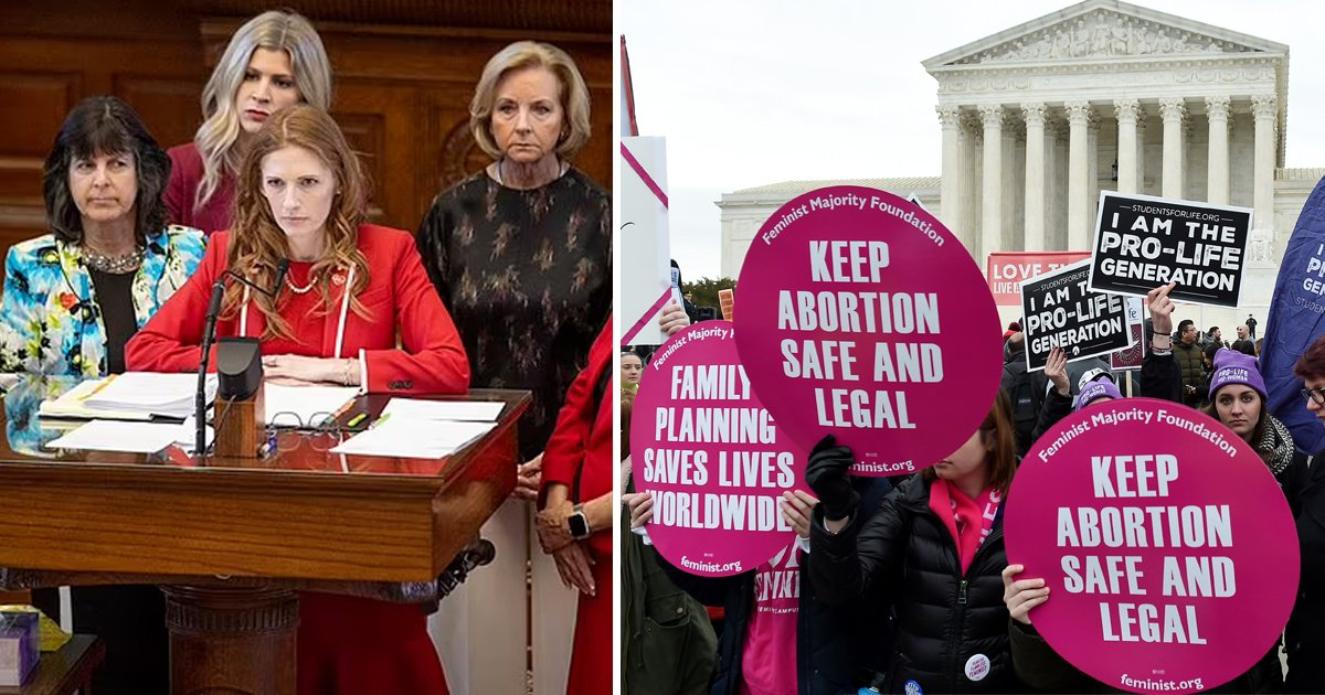 t1 12.jpg?resize=1200,630 - Texas Lawmakers Pass Fetal 'Heartbeat Bill' That BANS Abortions After Just SIX WEEKS