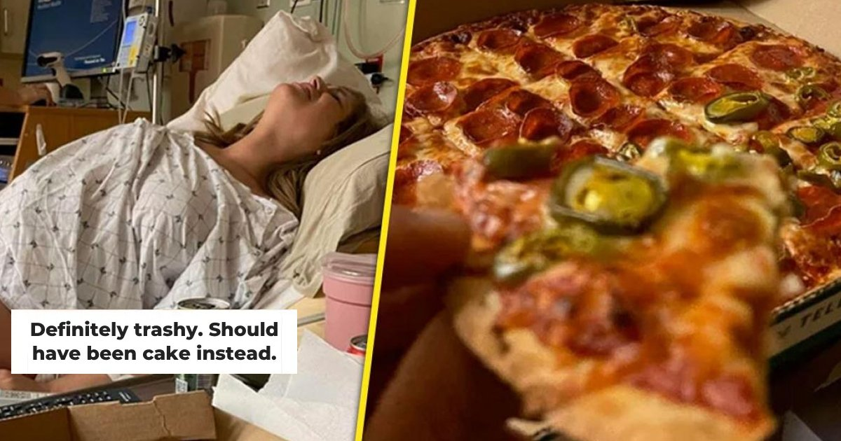 t1 22.jpg?resize=412,232 - Careless Dad SLAMMED For Eating ENTIRE Pizza While Watching Wife DELIVER Baby