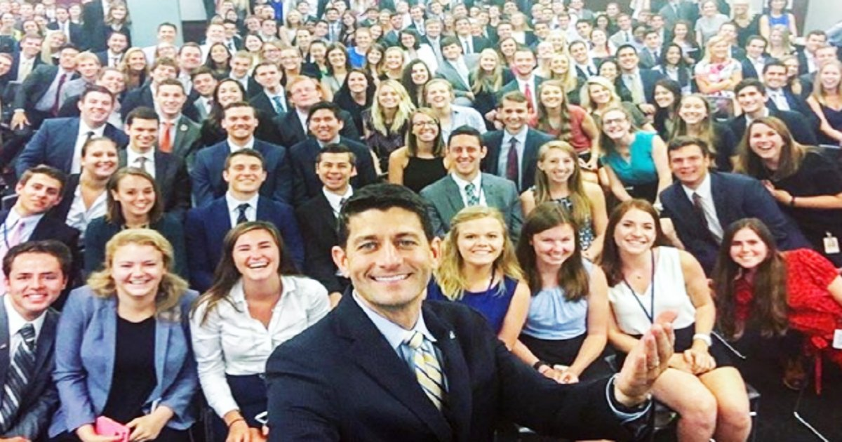 t2 3.jpg?resize=1200,630 - Can You Identify What's ODD In House Speaker Paul Ryan's Selfie From Capitol Hill?