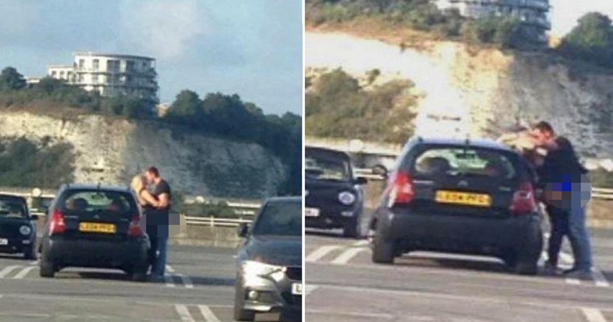 t2 5 1.jpg?resize=1200,630 - Frisky Couple Become Internet Sensation After Being Caught Having S*x In Mall's Car Park