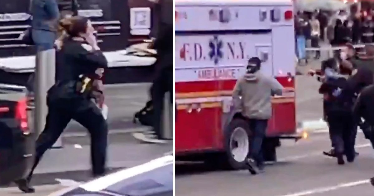 t2.jpg?resize=1200,630 - Video Shows HERO Female Cop Crying & Running With Baby Victim Shot In Times Square