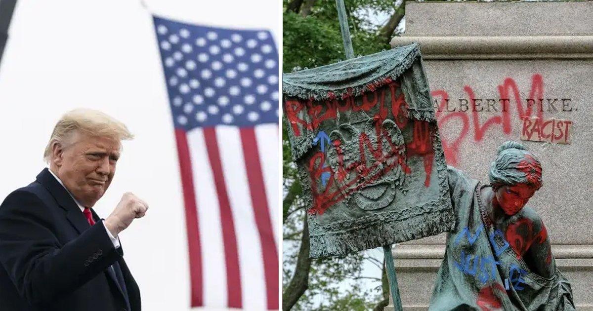 t3 11 1.jpg?resize=1200,630 - President Biden REVERSES Donald Trump's Executive Order To Punish Statue Vandals