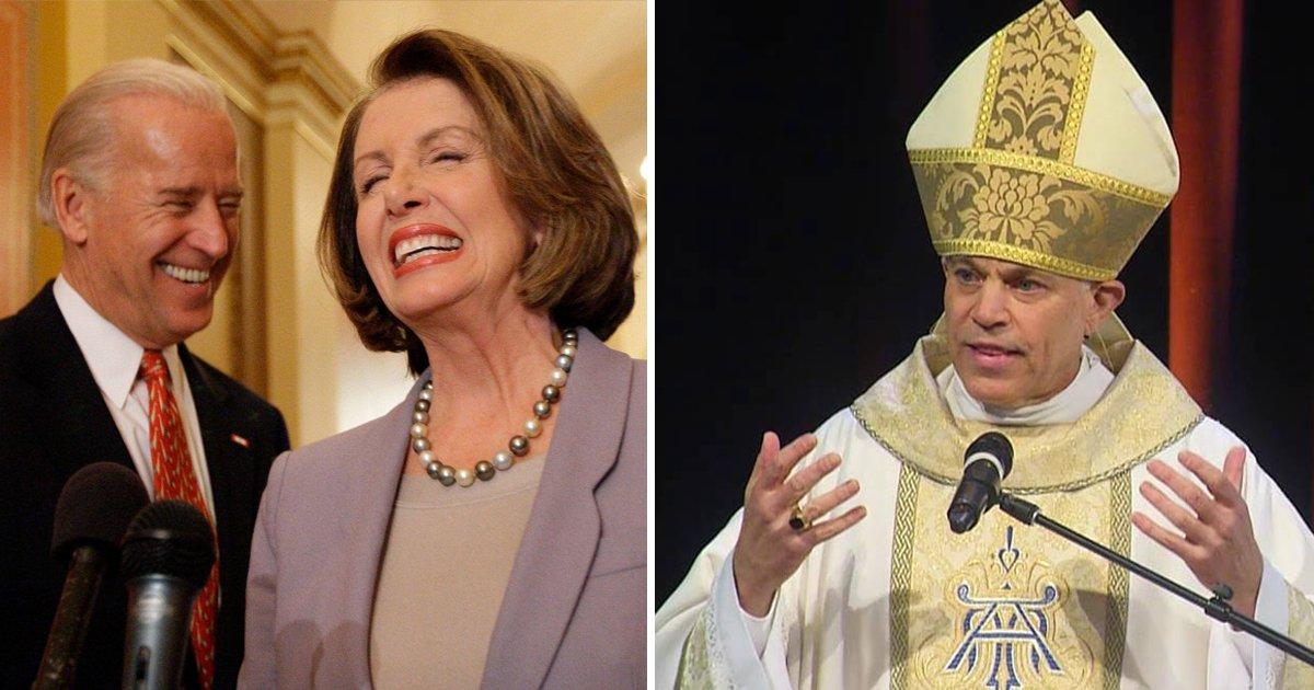 "t3.jpg?resize=1200,630 - ""Nancy Pelosi & Joe Biden Should Be DENIED Holy Communion""- San Francisco Archbishop"