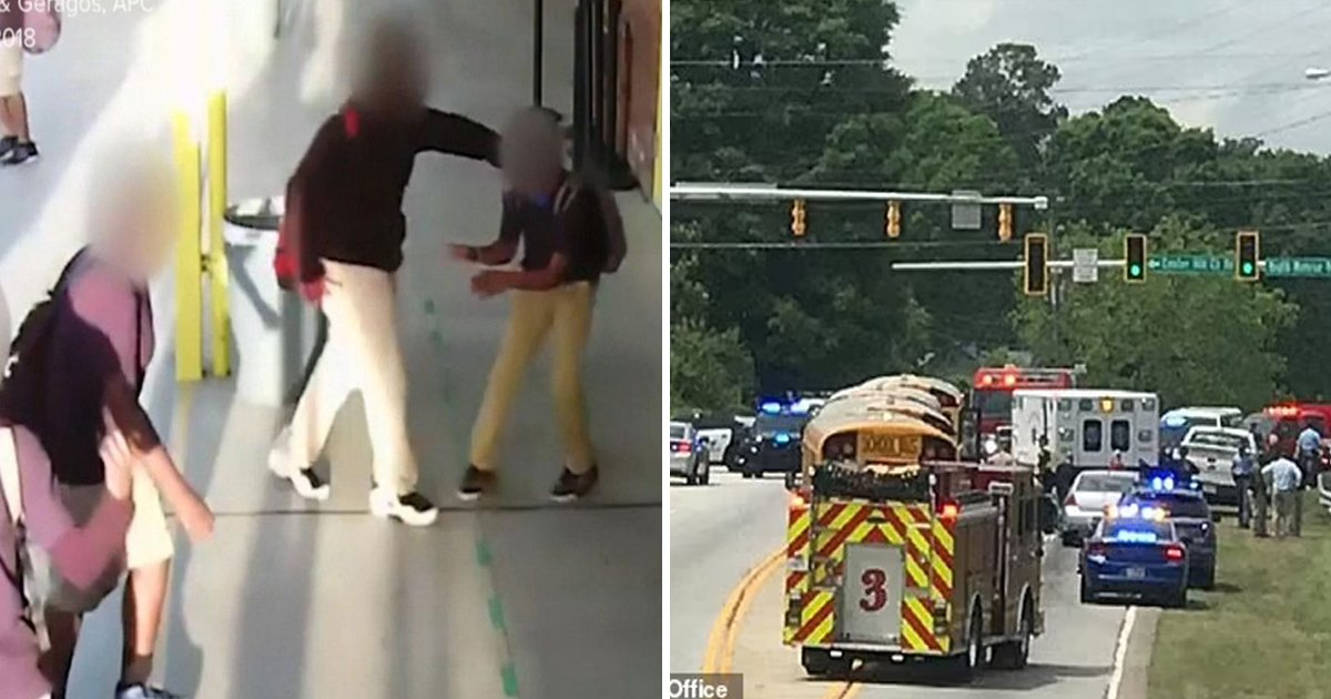 t4 11.jpg?resize=1200,630 - 11-Year-Old Boy Crashes Onto Georgia Highway After JUMPING Out Of Moving School Bus To Escape A Beating From Bullies