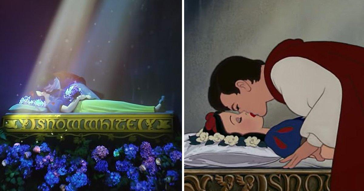 t4 5.jpg?resize=1200,630 - California's Disneyland Revamped Snow White Ride Draws Backlash Over 'Sleeping Kiss' Scene