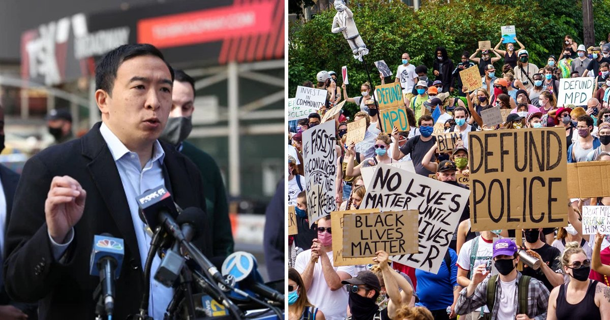 """t5 13.jpg?resize=1200,630 - """"NYC CAN'T Afford To Defund The Police""""- Andrew Yang Slams City's Leaders After Shooting At Times Square"""
